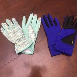 Burton gloves sized for s/m female hands